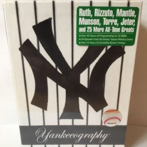 Yankeeography (DVD, 12-Disc Set)  great gift!